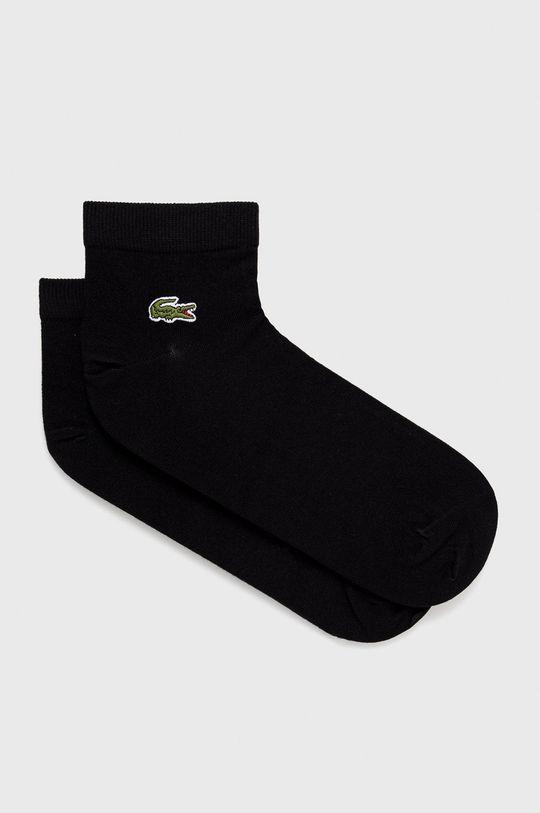čierna Lacoste - Ponožky (2-pak) Pánsky