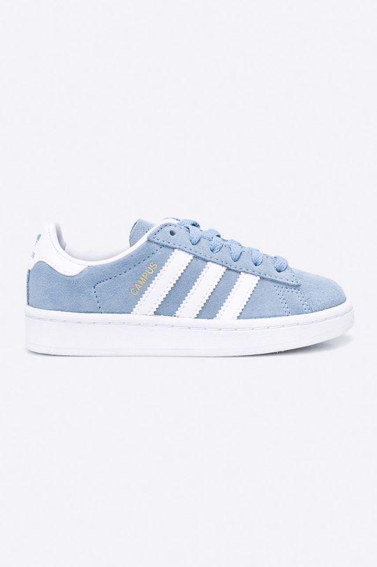 modrá adidas Originals - Detské topánky Campus Chlapčenský