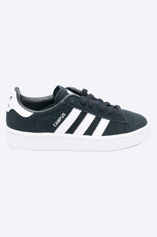 čierna adidas Originals - Detské topánky Campus C Chlapčenský
