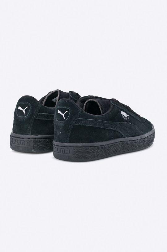 černá Puma - Dětské boty Suede Jr