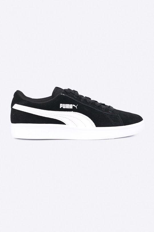 čierna Puma - Topánky Smash Chlapčenský