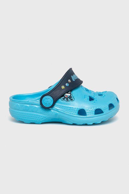 modrá Coqui - Dětské pantofle Chlapecký
