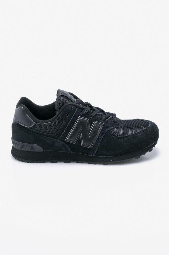 černá New Balance - Dětské boty GC574TB Chlapecký