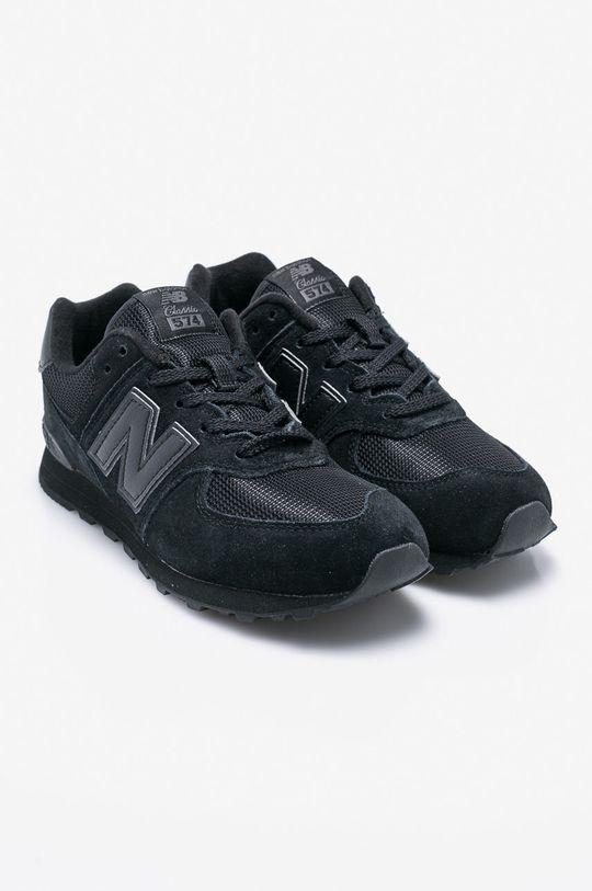 New Balance - Dětské boty GC574TB černá