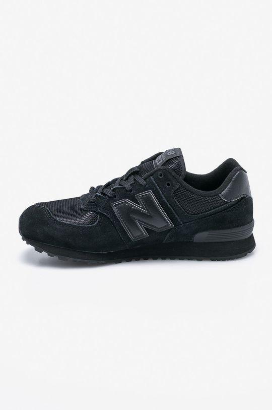 New Balance - Dětské boty GC574TB Svršek: Textilní materiál, Přírodní kůže Vnitřek: Textilní materiál Podrážka: Umělá hmota