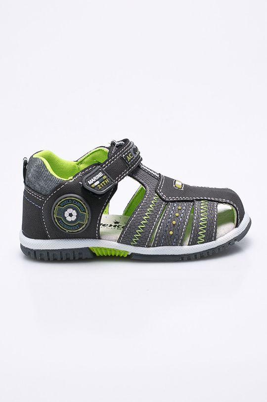 sivá American Club - Detské sandále Chlapčenský