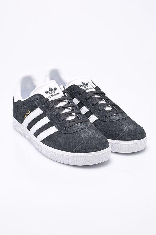 adidas Originals - Dětské boty Gazelle šedá