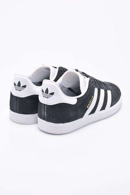 šedá adidas Originals - Dětské boty Gazelle