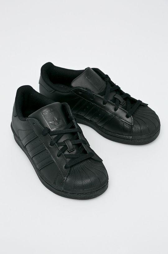 adidas Originals - Detské topánky Superstar čierna
