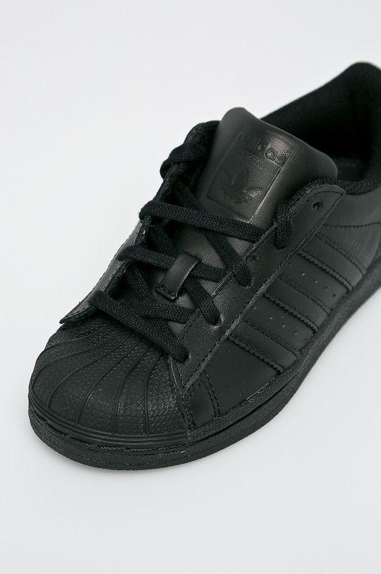 adidas Originals - Detské topánky Superstar <p>Zvršok: Syntetická látka, Prírodná koža Vnútro: Syntetická látka, Textil Podrážka: Syntetická látka</p>