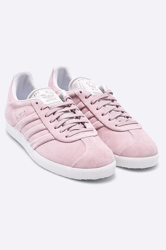 adidas Originals - Topánky Gazelle Stitch And Turn ružová