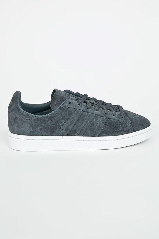 grafitová adidas Originals - Topánky Campus Stitch Dámsky