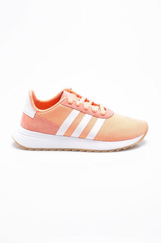 oranžová adidas Originals - Topánky FLB_ Runner Dámsky
