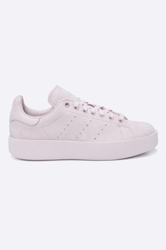 pastelová ružová adidas Originals - Topánky Stan Smith Bold Dámsky