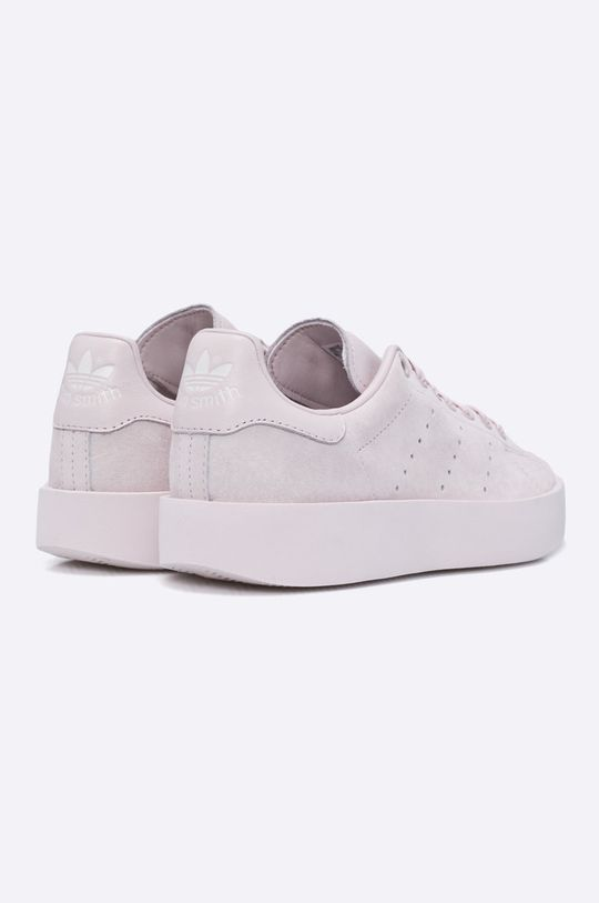 pastelová ružová adidas Originals - Topánky Stan Smith Bold