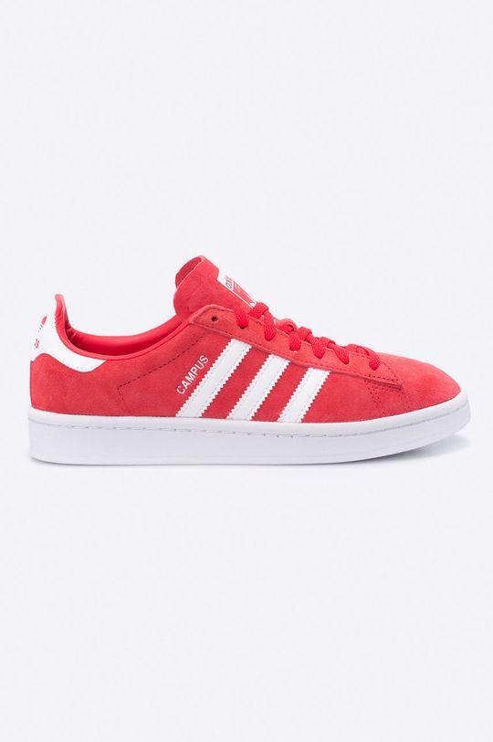 červená adidas Originals - Topánky Campus W Dámsky
