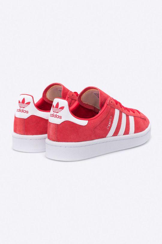 červená adidas Originals - Topánky Campus W