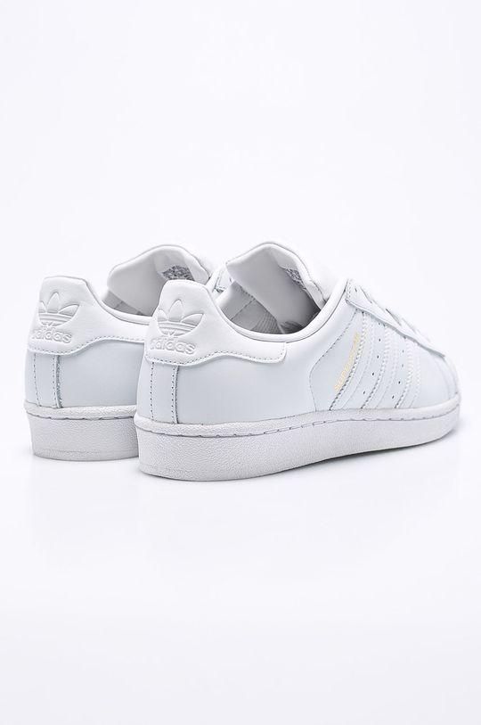 biela adidas Originals - Topánky Superstar