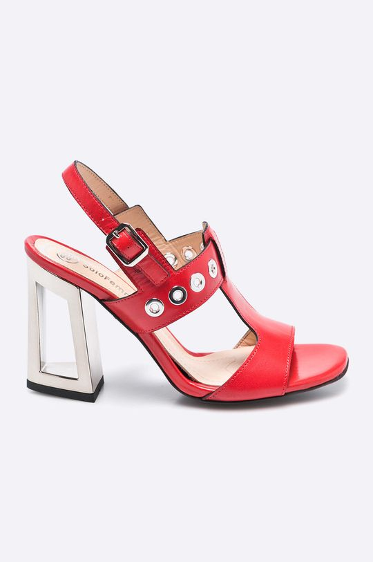 červená Solo Femme - Sandále Dámsky