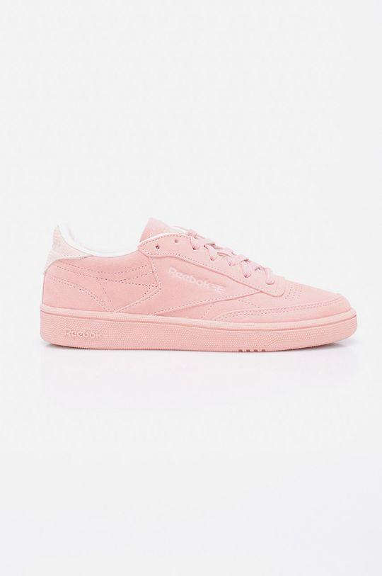 roz Reebok - Pantofi Club C 85 Nbk De femei