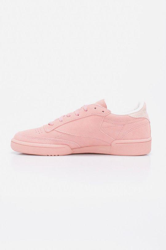 Reebok - Pantofi Club C 85 Nbk Gamba: Piele naturala Interiorul: Material textil Talpa: Material sintetic