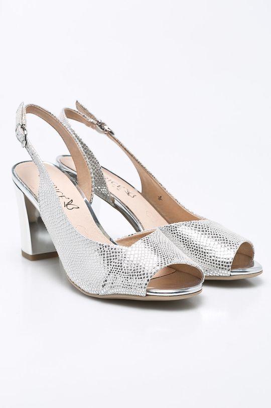 Caprice - Sandale argintiu