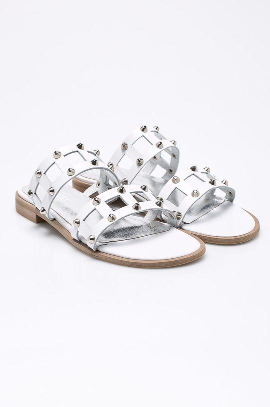 CheBello - Pantofle bílá
