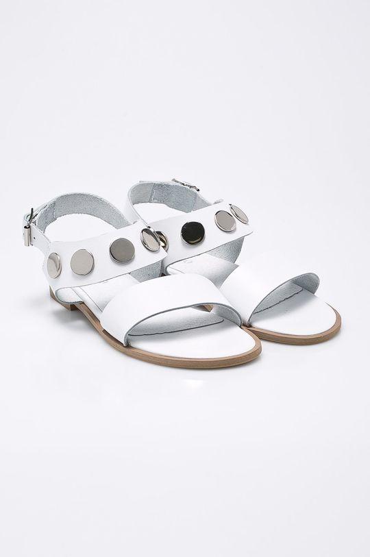 CheBello - Sandale alb