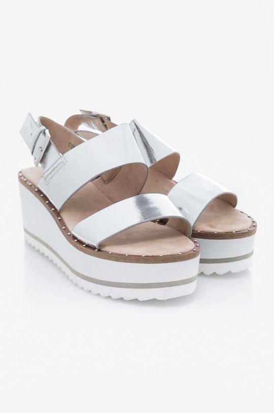 Corina - Sandale argintiu