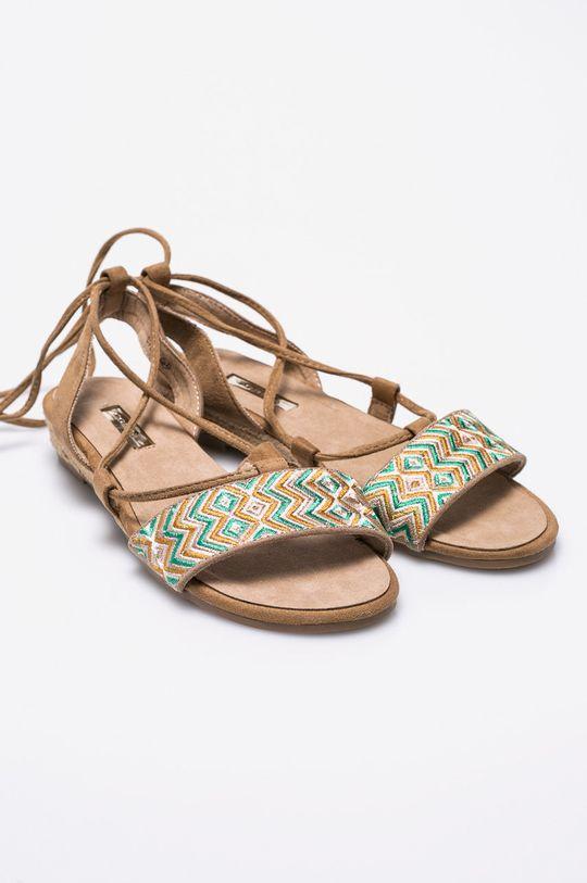 Corina - Sandale verde