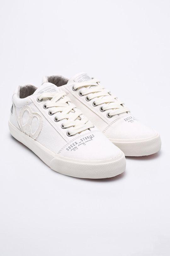 Soccx - Tenisky biela