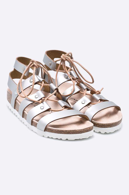Papillio - Sandály stříbrná