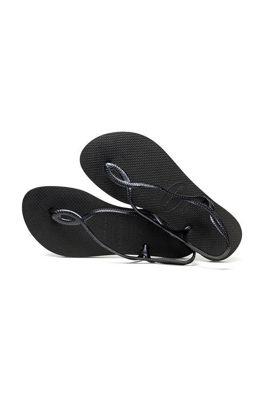 černá Havaianas - Sandály