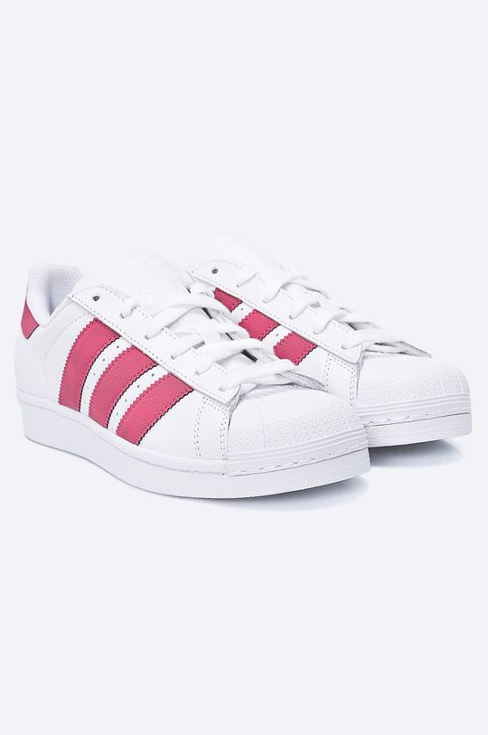 adidas Originals - Detské topánky Superstar J biela