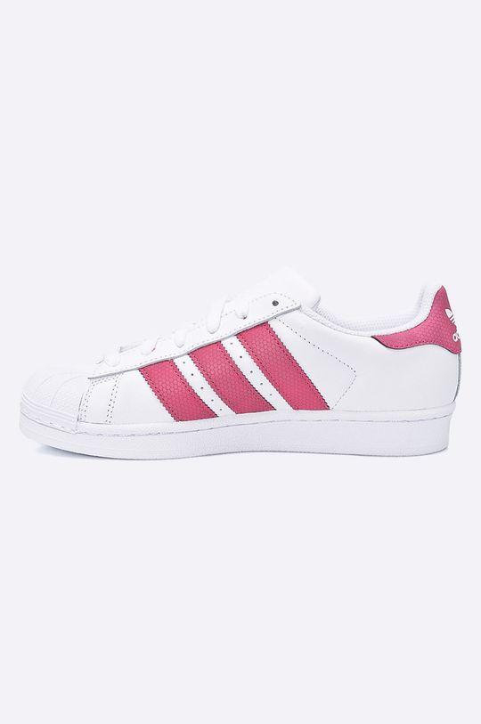 adidas Originals - Detské topánky Superstar J <p>Zvršok: Syntetická látka, Prírodná koža Vnútro: Textil Podrážka: Syntetická látka</p>