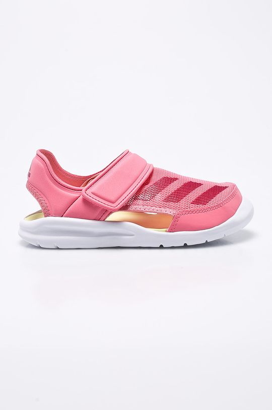 ružová adidas Performance - Detské sandále Dievčenský