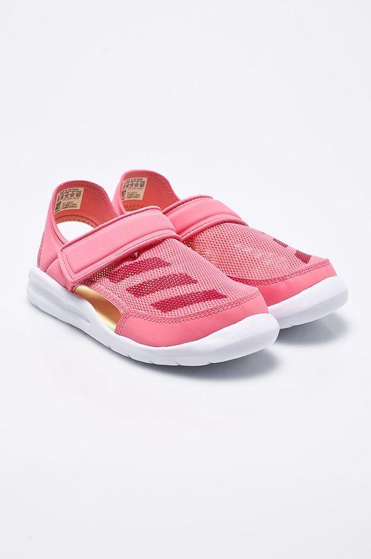 adidas Performance - Detské sandále ružová