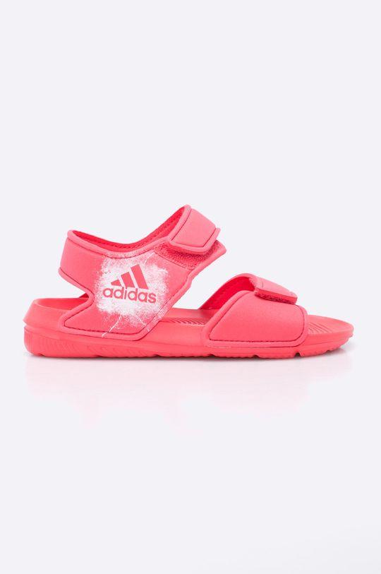 sýto ružová adidas Performance - Detské sandále Dievčenský