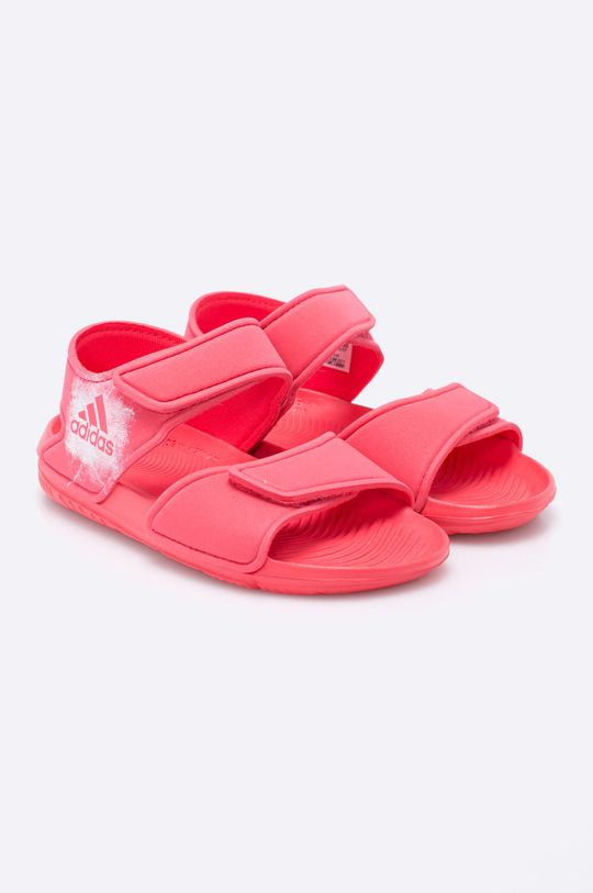 adidas Performance - Detské sandále sýto ružová