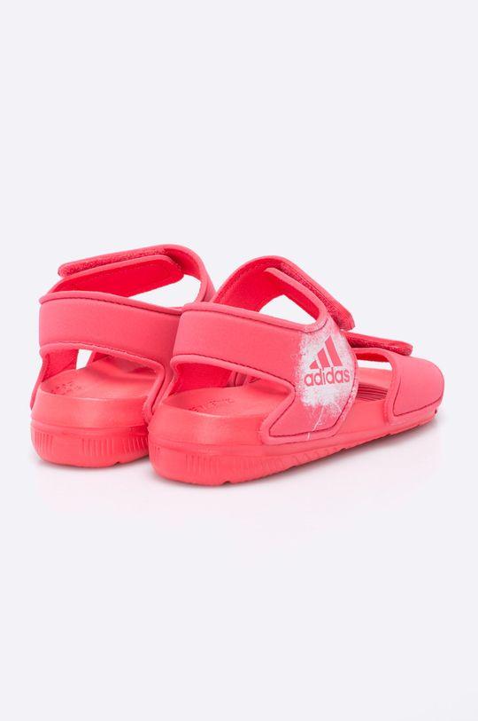 sýto ružová adidas Performance - Detské sandále