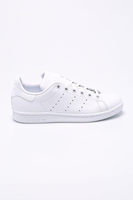 biela adidas Originals - Detské topánky Stan Smith Dievčenský