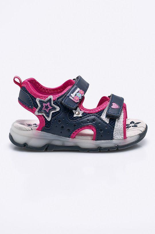 tmavomodrá American Club - Detské sandále Dievčenský