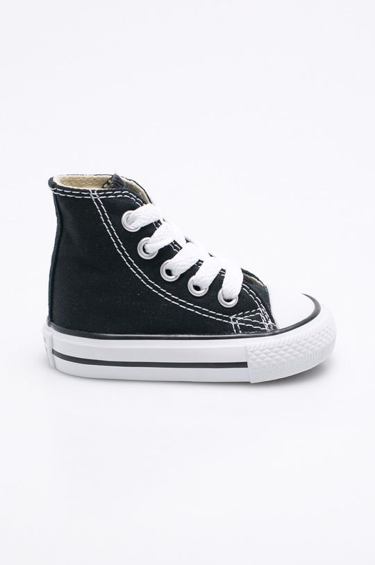 čierna Converse - Detské topánky Detský