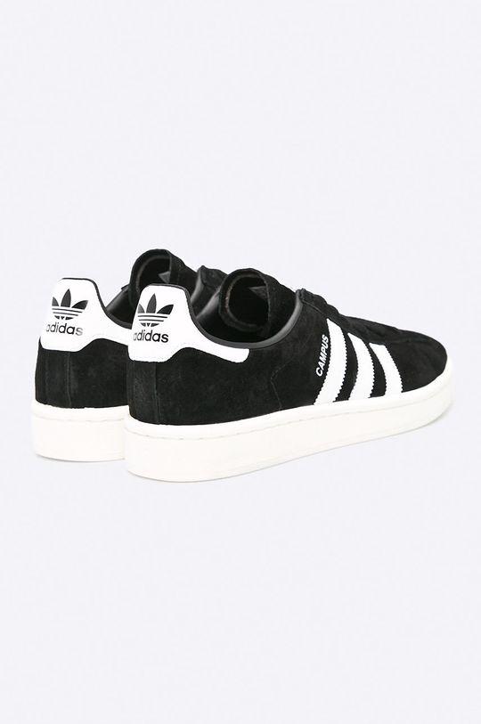 čierna adidas Originals - Topánky Campus