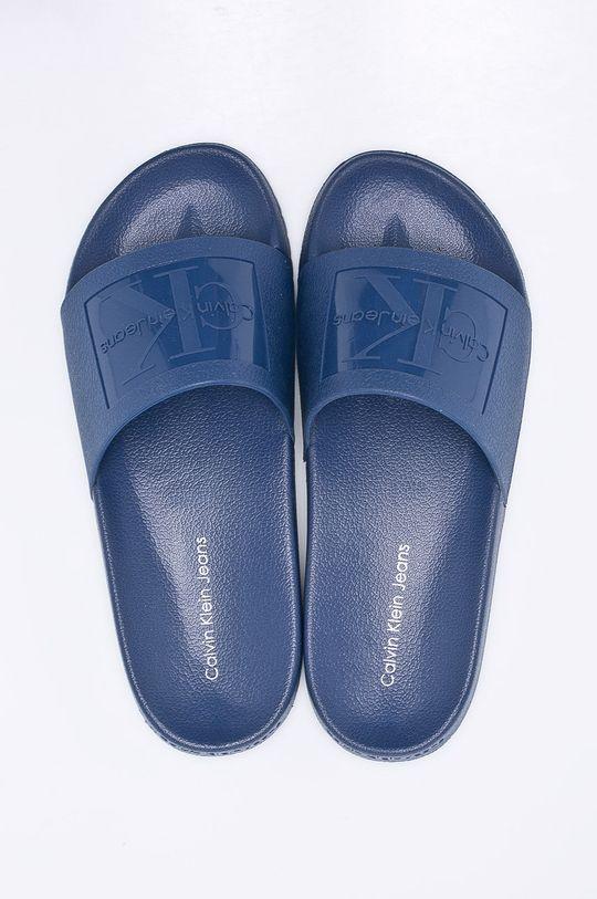 Calvin Klein Jeans - Pantofle modrá