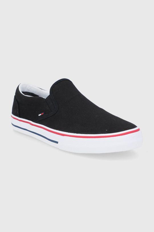 Tommy Jeans - Tenisky černá
