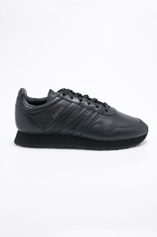 čierna adidas Originals - Topánky Haven Pánsky