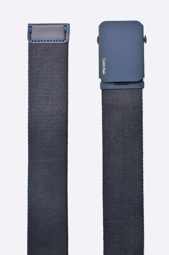 Calvin Klein Jeans - Pásek námořnická modř