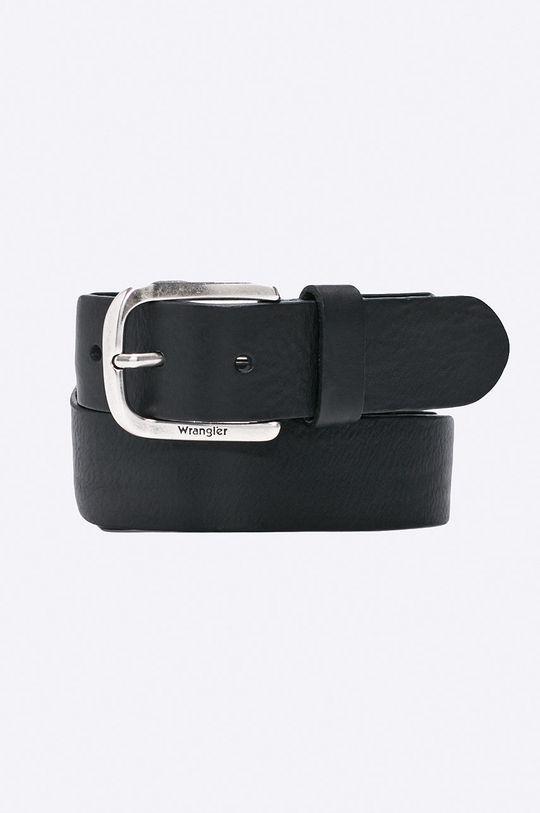 černá Wrangler - Pásek kožený Pánský