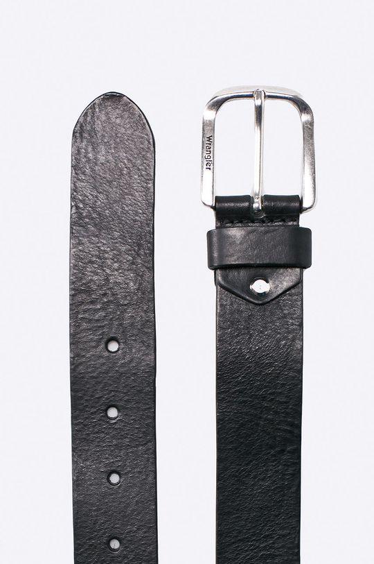 Wrangler - Pásek kožený černá